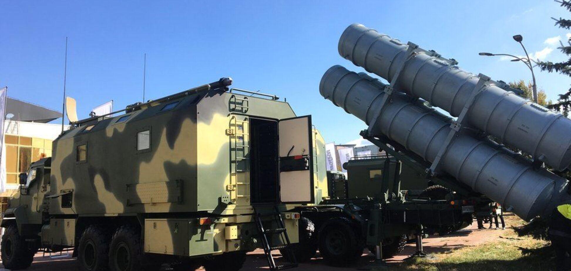 В Украине впервые показали мощнейший ракетный комплекс 'Нептун'