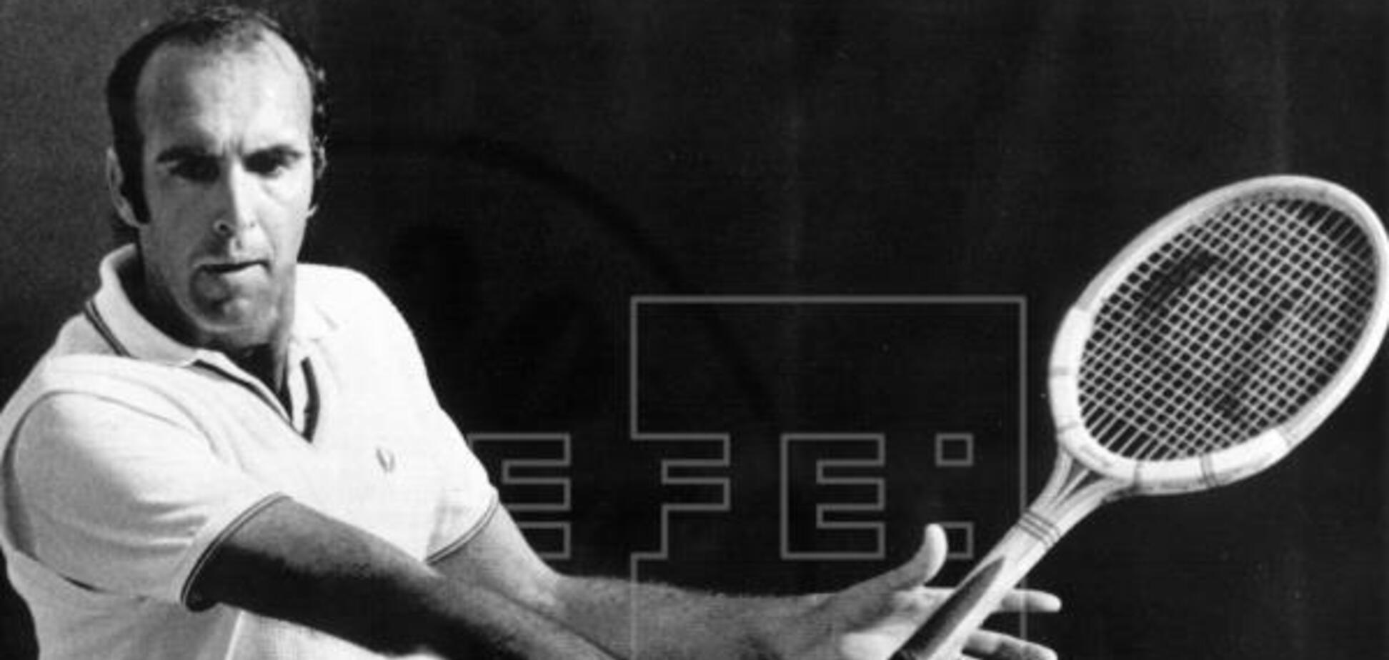 Помер легендарний іспанський тенісист