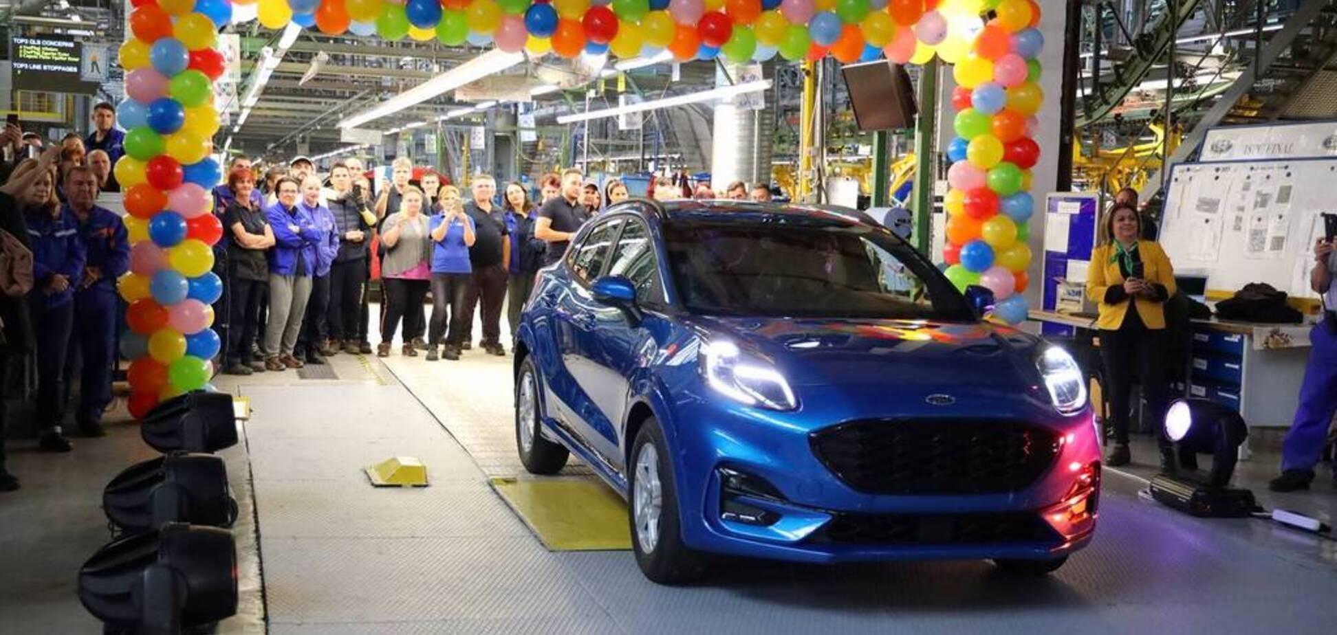 Стартувало виробництво нового Ford Puma