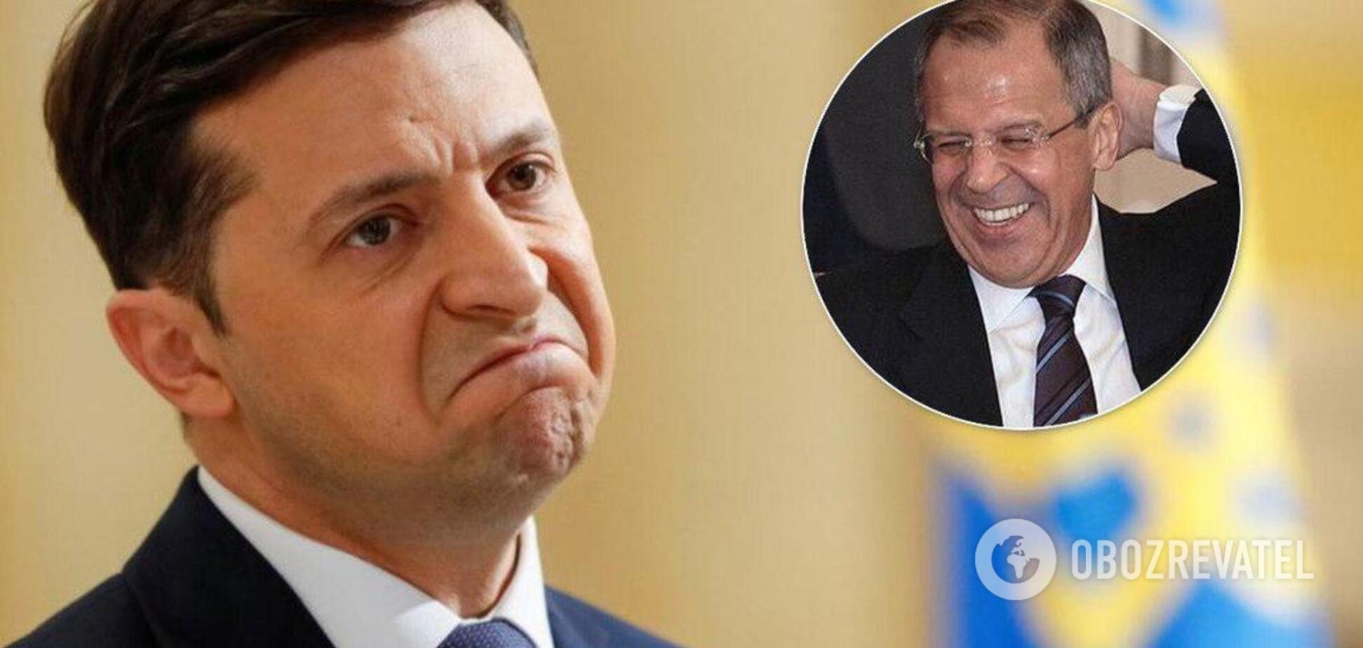 'У Зеленского связаны руки': Лавров сделал резкое заявление о войне на Донбассе