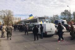 'Была стрельба': в Нацкорпусе сообщили подробности задержаний ветеранов у Золотого