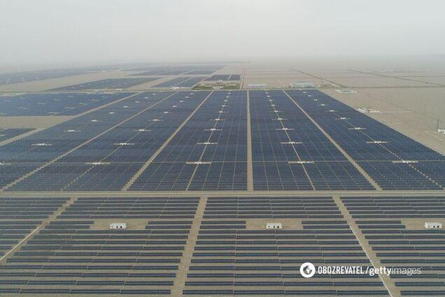 В Украине появилась уникальная солнечная электростанция