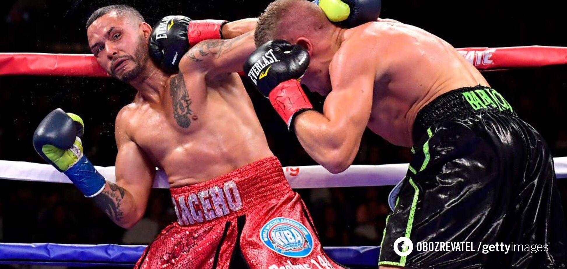 Знаменитий боксер ефектно вирубав суперника в чемпіонському бою - відео нокдауну