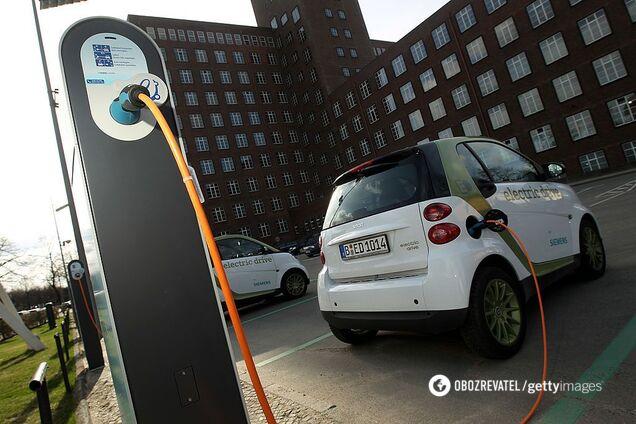 В Україні з'являться безкоштовні зарядки для електрокарів