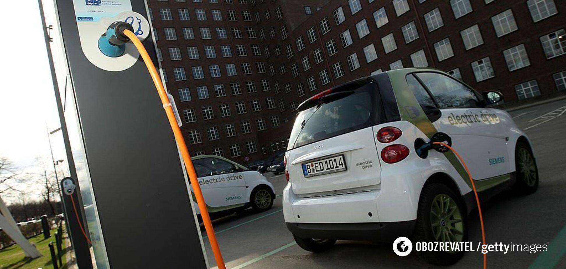 В Україні з'являться безкоштовні зарядки для електрокарів: які міста підключать