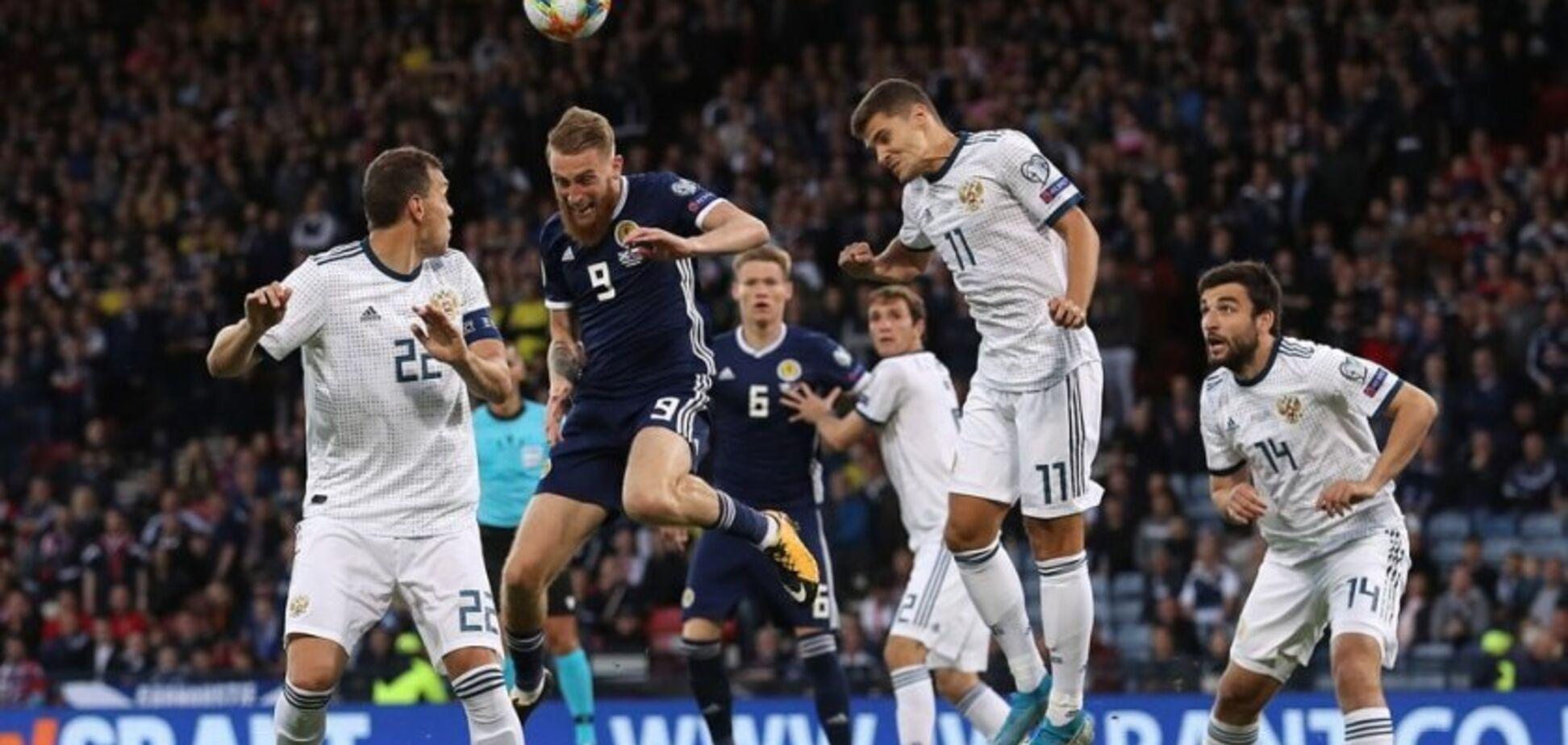Россия – Шотландия: где смотреть онлайн матч отбора Евро-2020