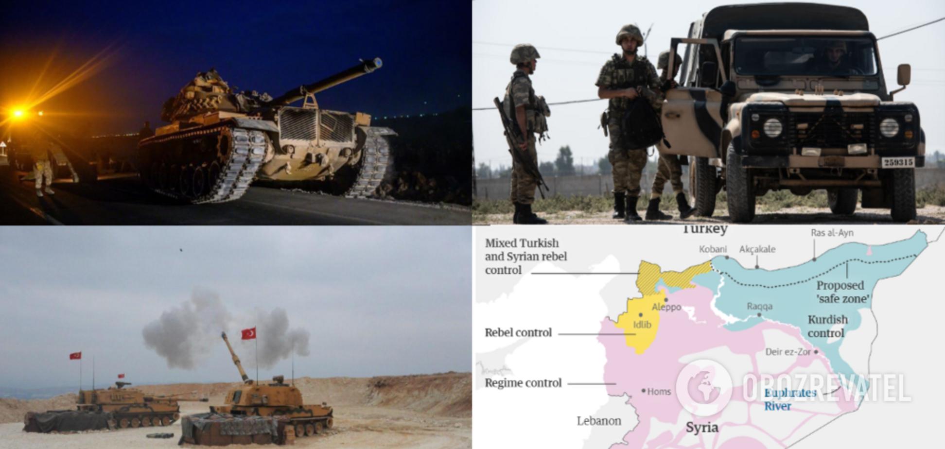 Турция начала военную операцию в Сирии: все подробности