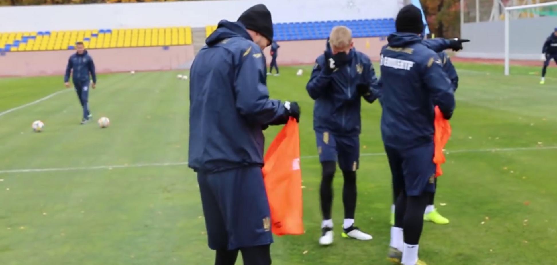 Малиновський відправив Зінченка в нокдаун на тренуванні збірної України - опубліковано відео