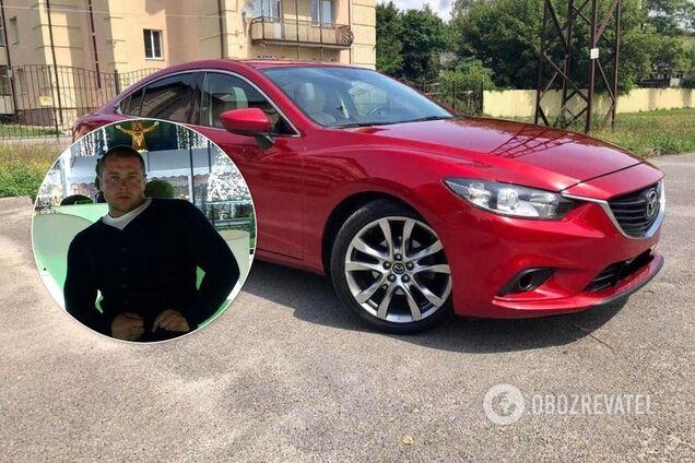 В Харькове наказали копов за езду на краденой Mazda