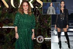 Пошлая Шейк и Бэрримор в мятом платье: худшие наряды звезд на этой неделе