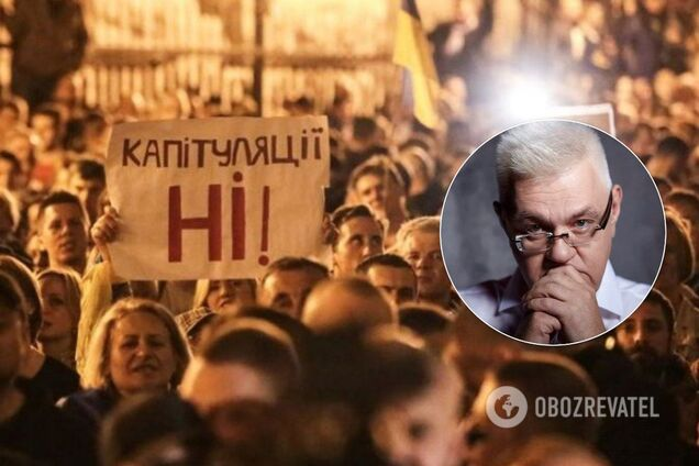 """""""Хочу напомнить Сивохо о том, что с такой риторики начиналось то, чем закончил Янукович"""", – заявил волонтер"""