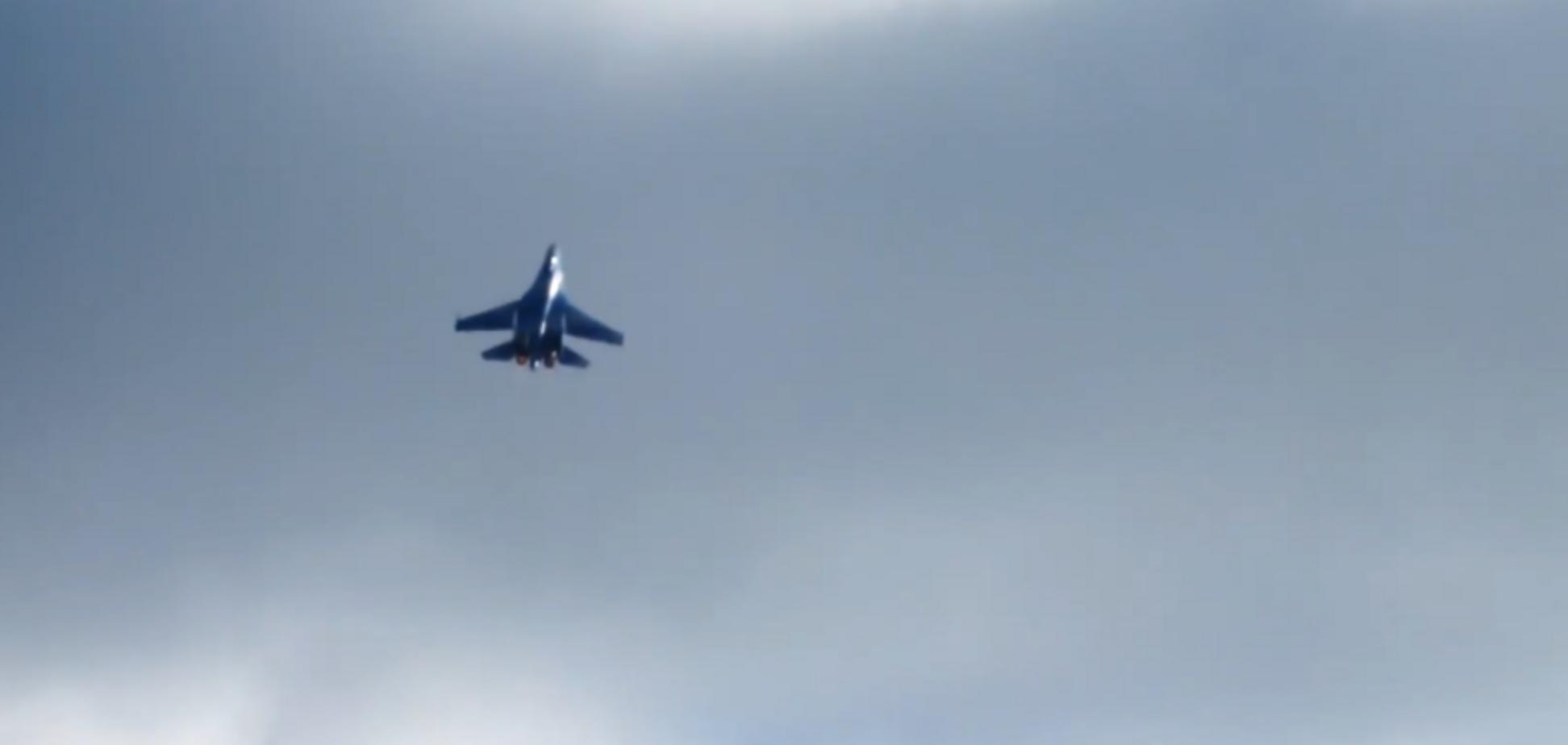 ВСУ подняли авиацию вблизи Крыма: опубликовано яркое видео