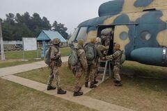 От тренажеров до прыжка: под Днепром проходят сборы десантников-резервистов