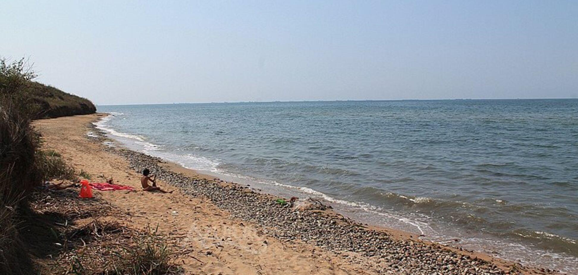 На Азовському морі можуть зникнути пляжі через зсуви