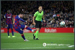 Месси забил гол-шедевр и повторил рекорд Роналду