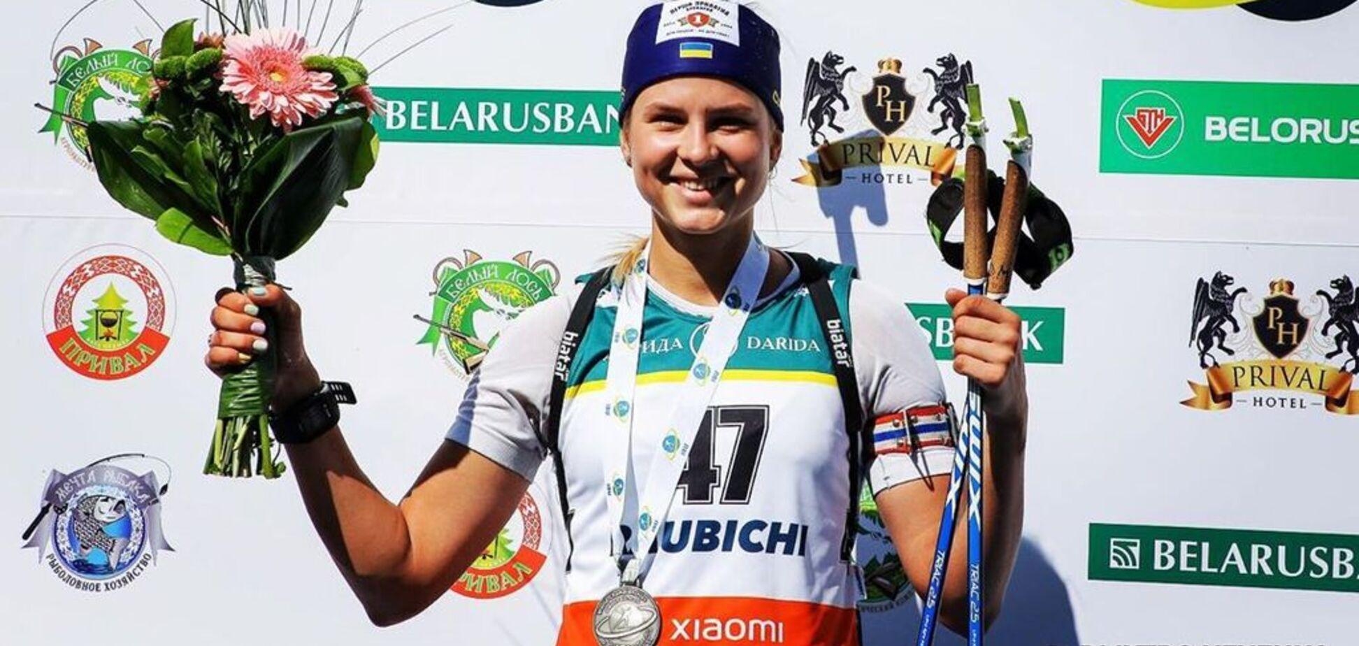 Известная биатлонистка, сбежавшая из России, поздравила на мове Украину