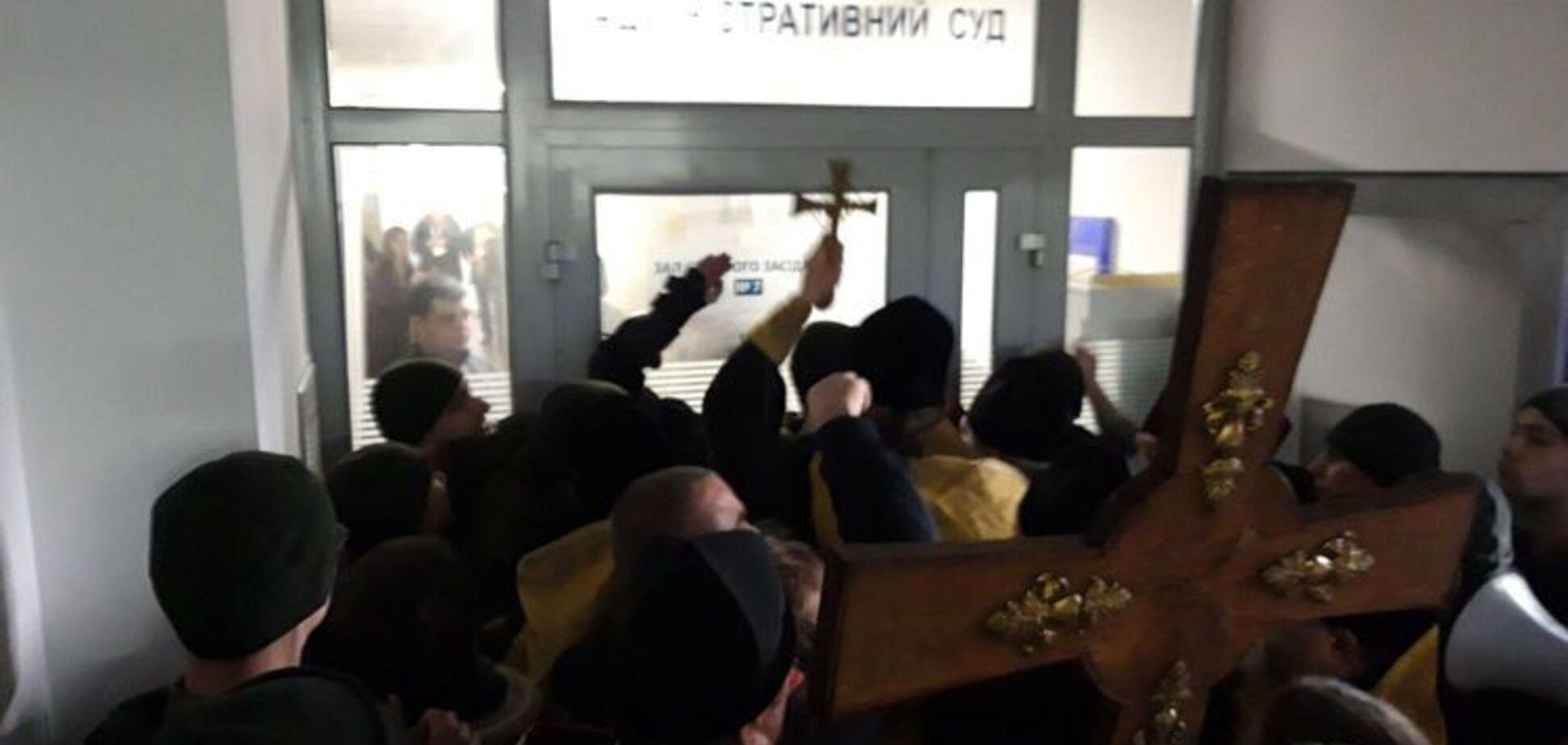 В Киеве сторонники Филарета устроили драку: все подробности