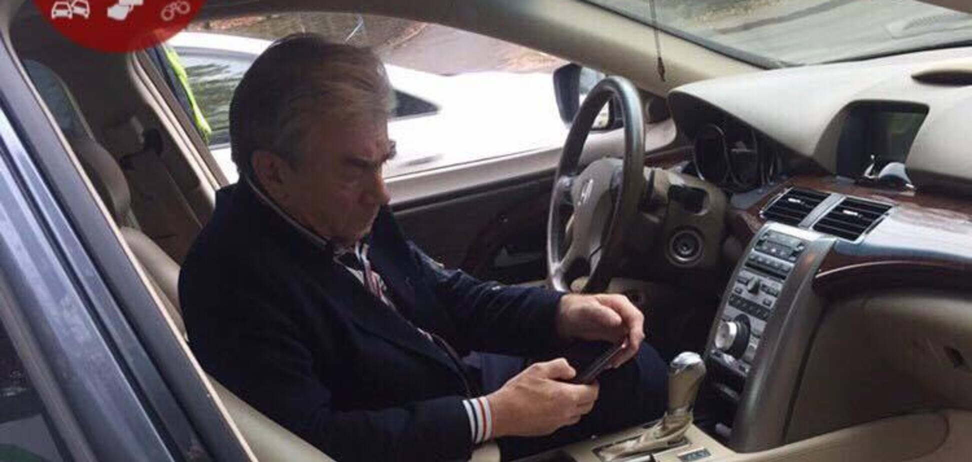 В Киеве остановили пьяного дипломата за рулем авто