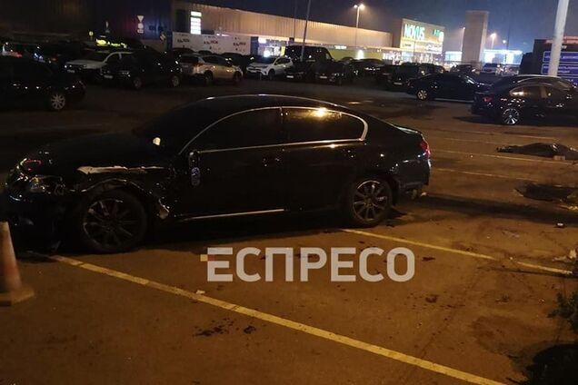 ДТП в Киеве с Lexus
