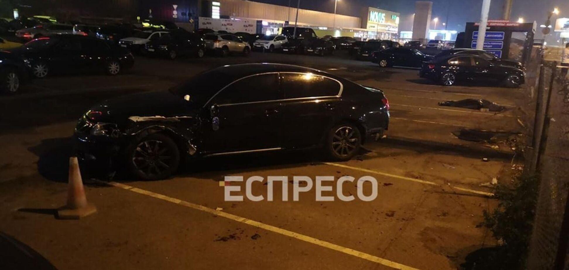 В Киеве Lexus раздавил пешеходов: появились новые детали