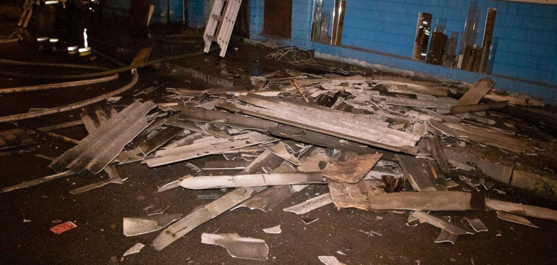 В Киеве вспыхнул известный рынок