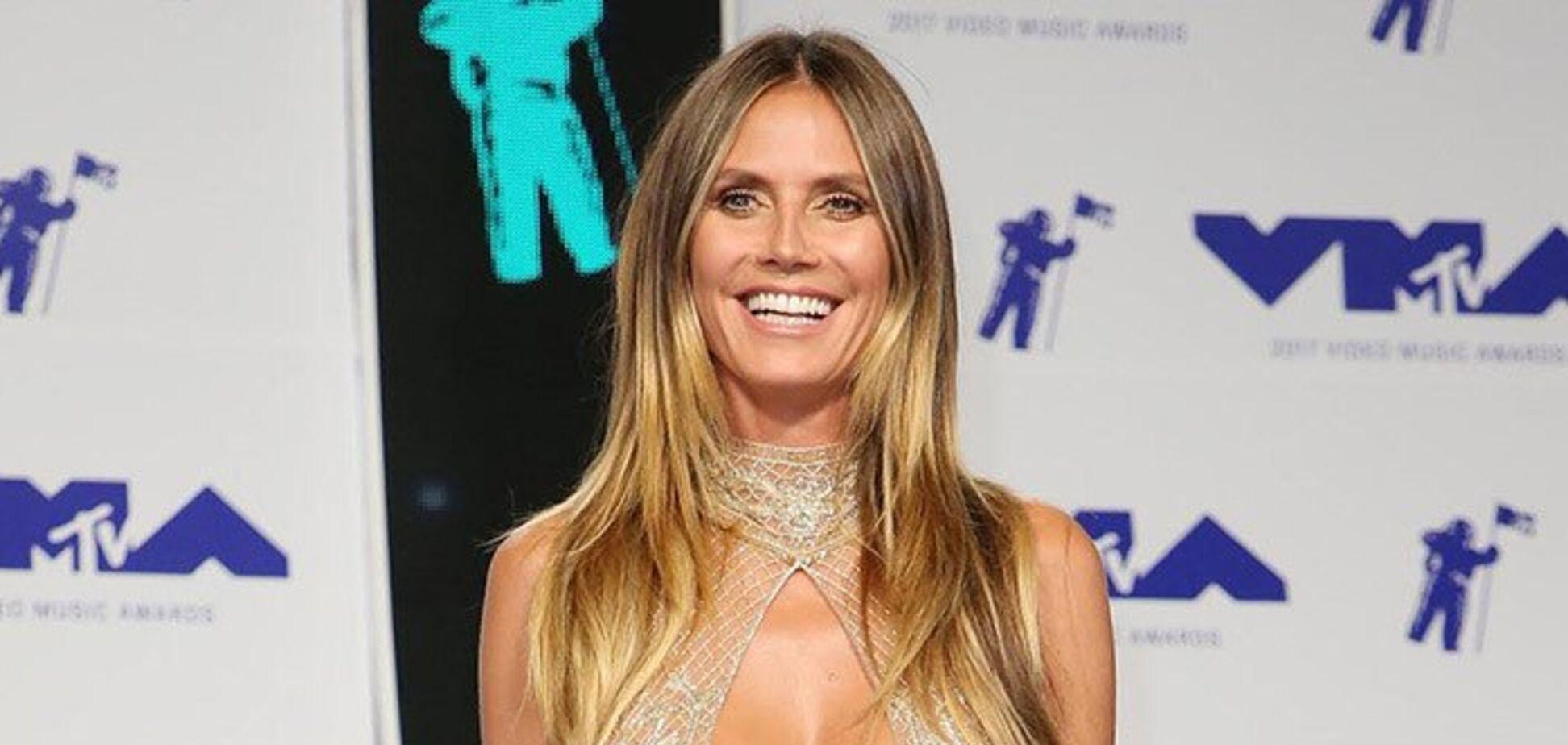 46-летняя Хайди Клум снялась топлес и свела с ума поклонников