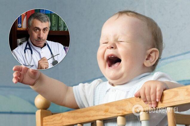 Комаровський дав поради, як вберегти дитину