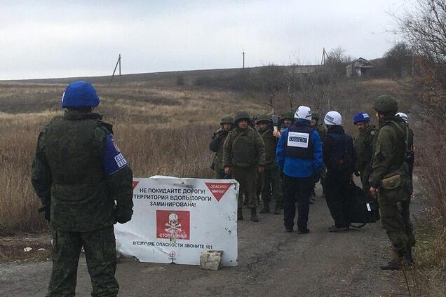 Спостерігачі ОБСЄ фіксують відведення озброєнь