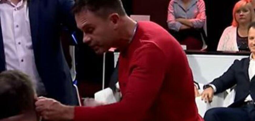 Пропагандиста Коцабу 'покарали' на львівському телебаченні