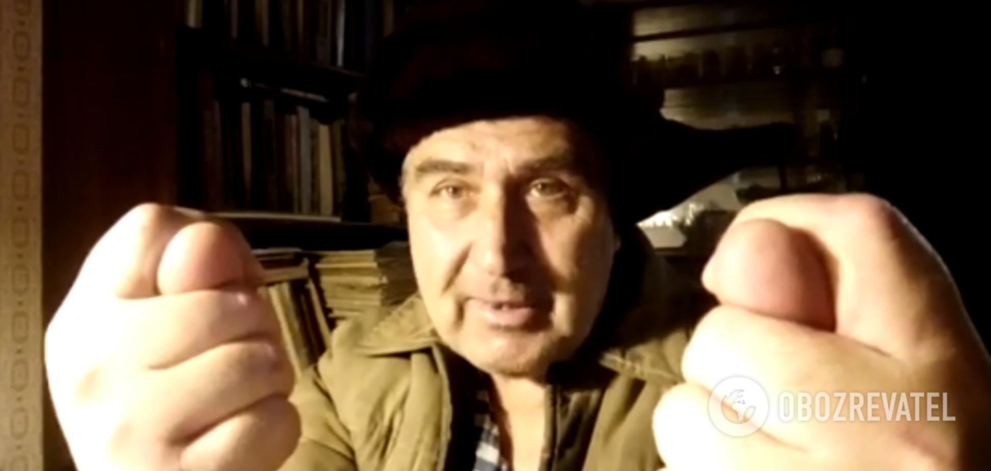 'Сосиску и прописку хочу!' Житель Донбасса пригрозил 'закоротить' Путина