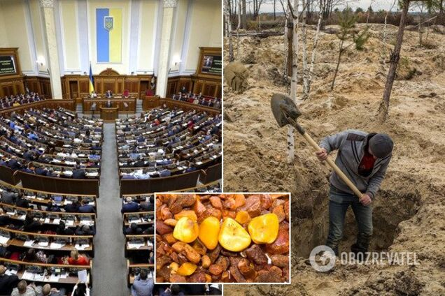 Рада проголосовала за закон о легализации добычи янтаря