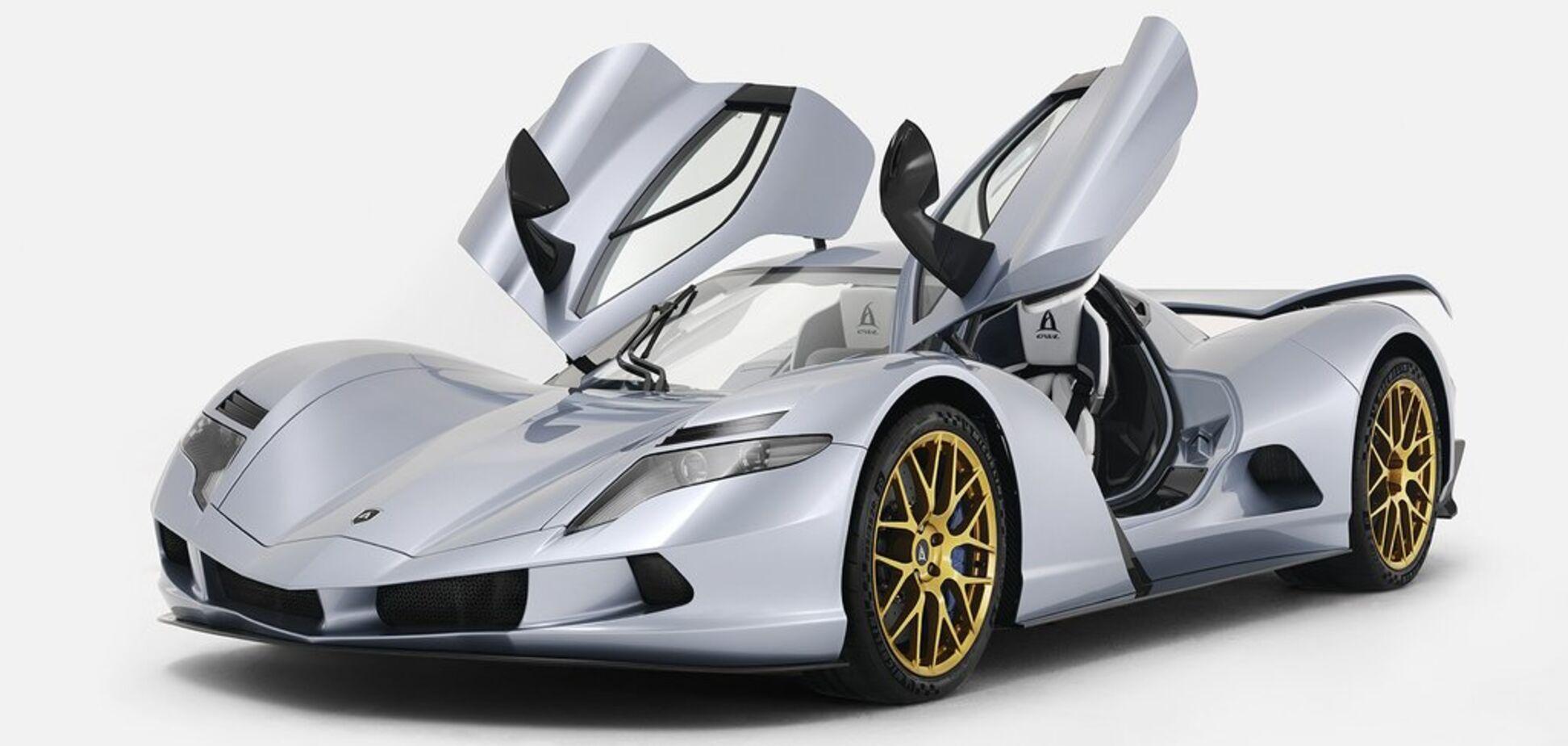 Невероятный электромобиль оценили в 2,9 млн евро