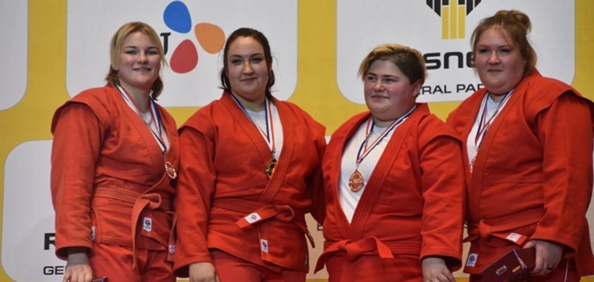 Украинка стала чемпионкой мира по самбо