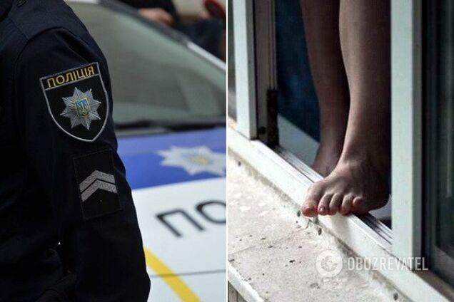 В Киеве школьница выпала с 13 этажа