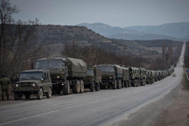 Путин активно стягивает войска в Крым