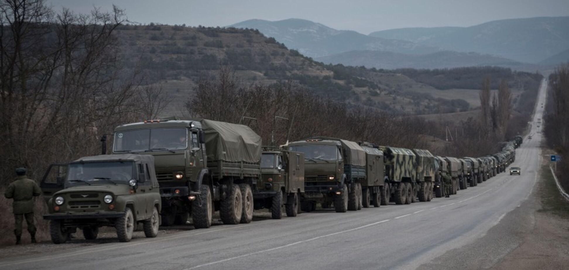 Путин активно стягивает войска в Крым: разведка сделала заявление