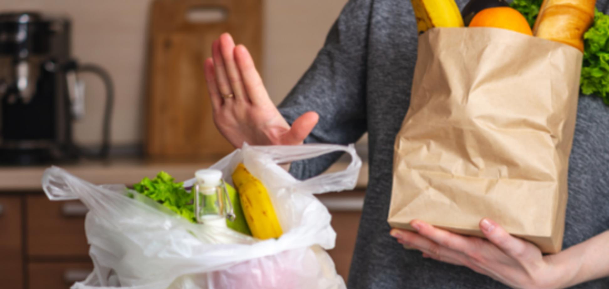 В Україні заборонять пластикові пакети: в Раді дали добро