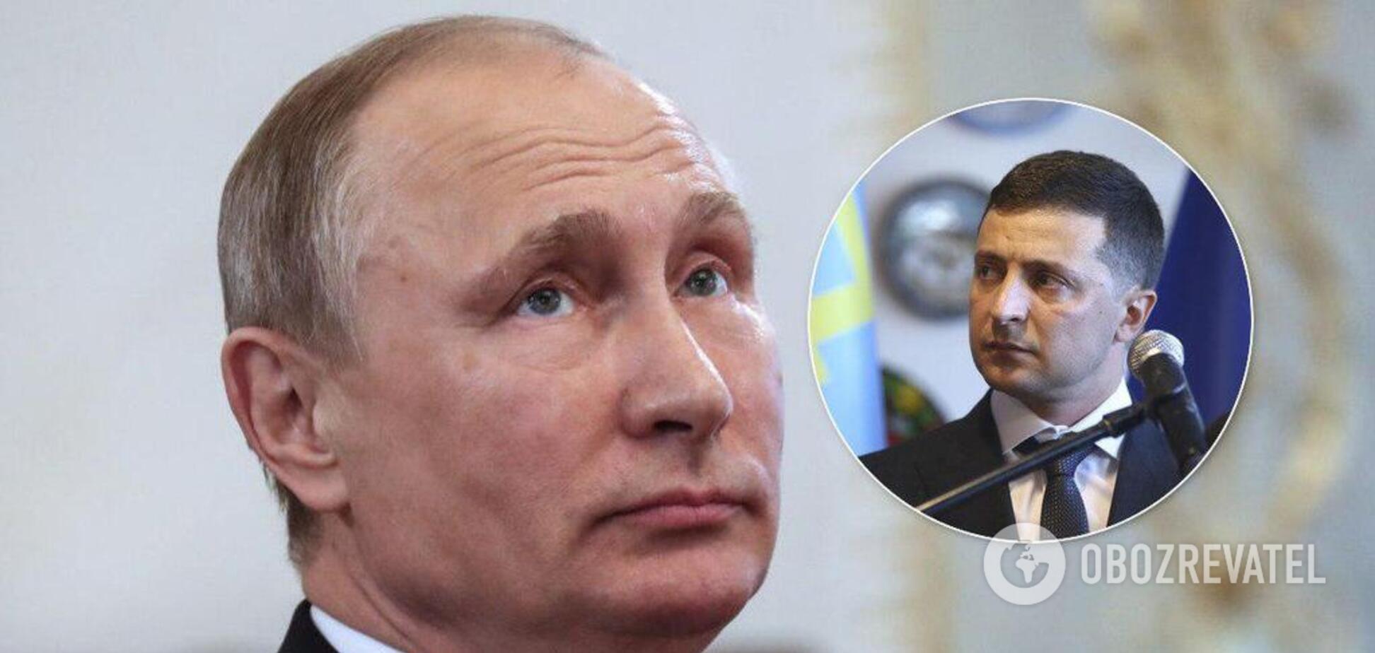 Путин делает из Зеленского просителя