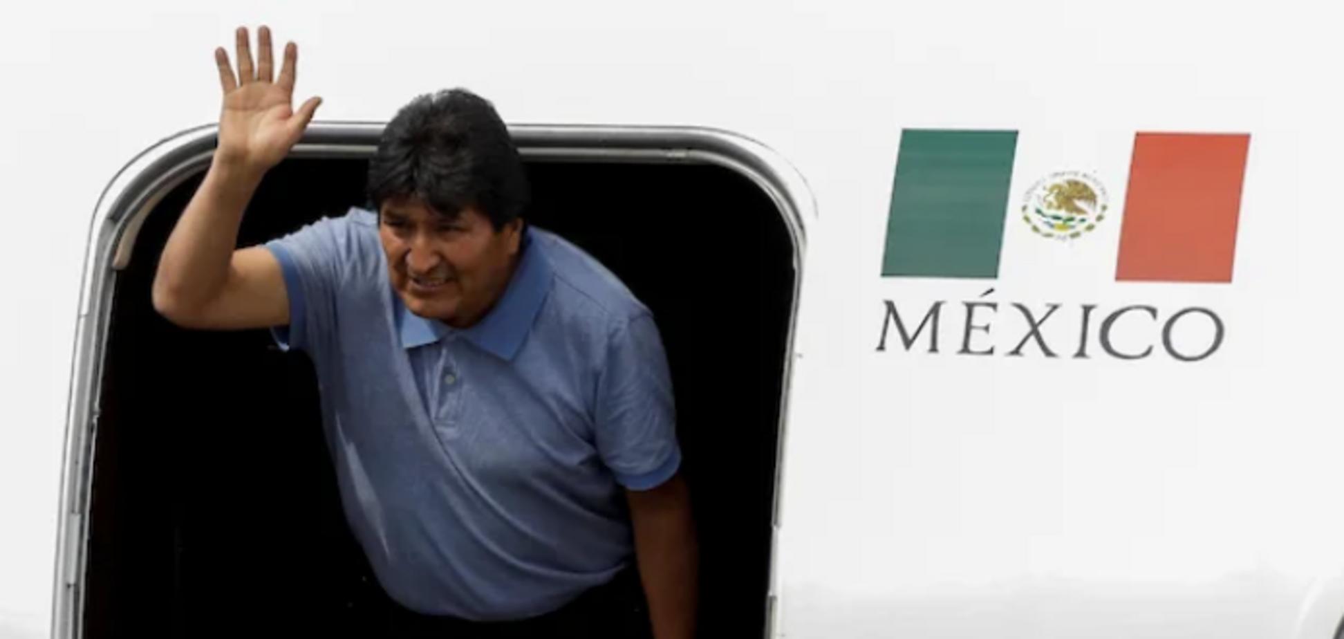 Моралес отримав притулок у Мексиці