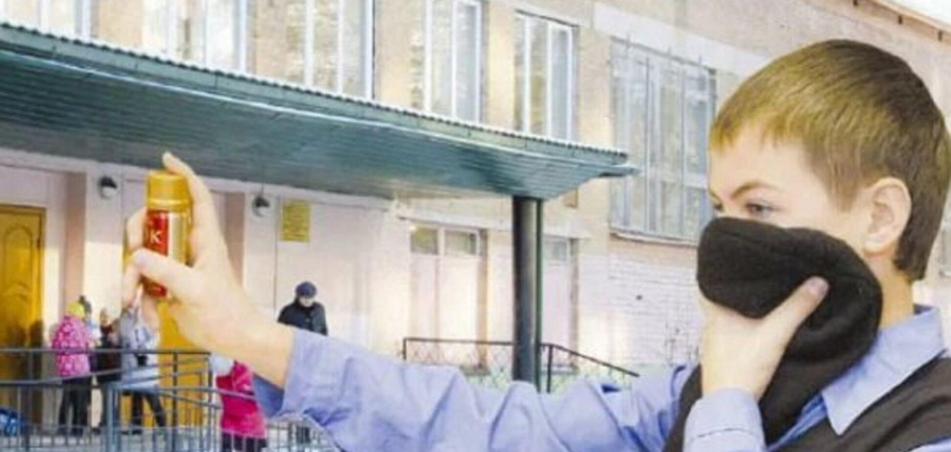 Дети кричали: в Одессе школьник распылил в классе газовый баллончик