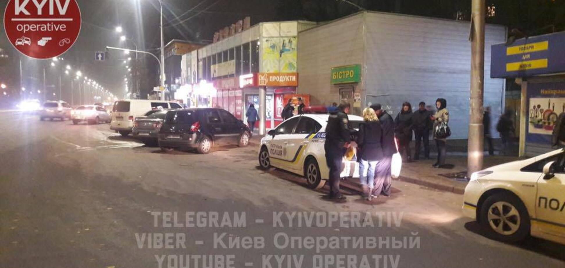 В Киеве водитель маршрутки попал в громкий скандал