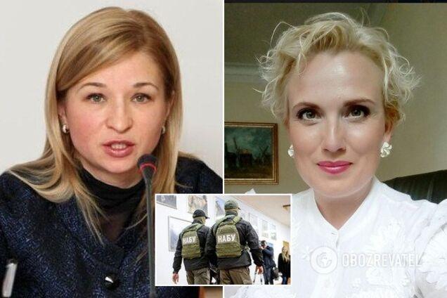 Виктория Лесничая и Светлана Кондзеля