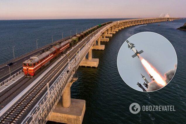 С военной точки зрения Крымский мост – это несложная цель, сказал генерал Романенко