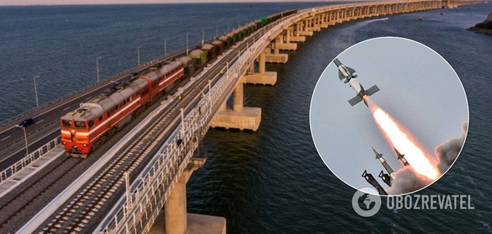 Не сложная цель: генерал сказал, как можно уничтожить Крымский мост