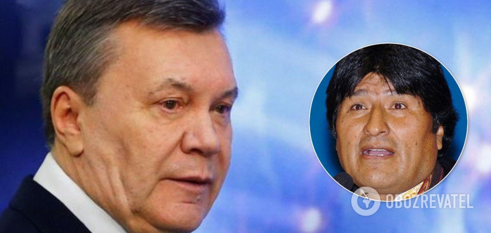 Мехіко-на-Дону: у мережі виявили схожість Януковича з президентом-втікачем Болівії