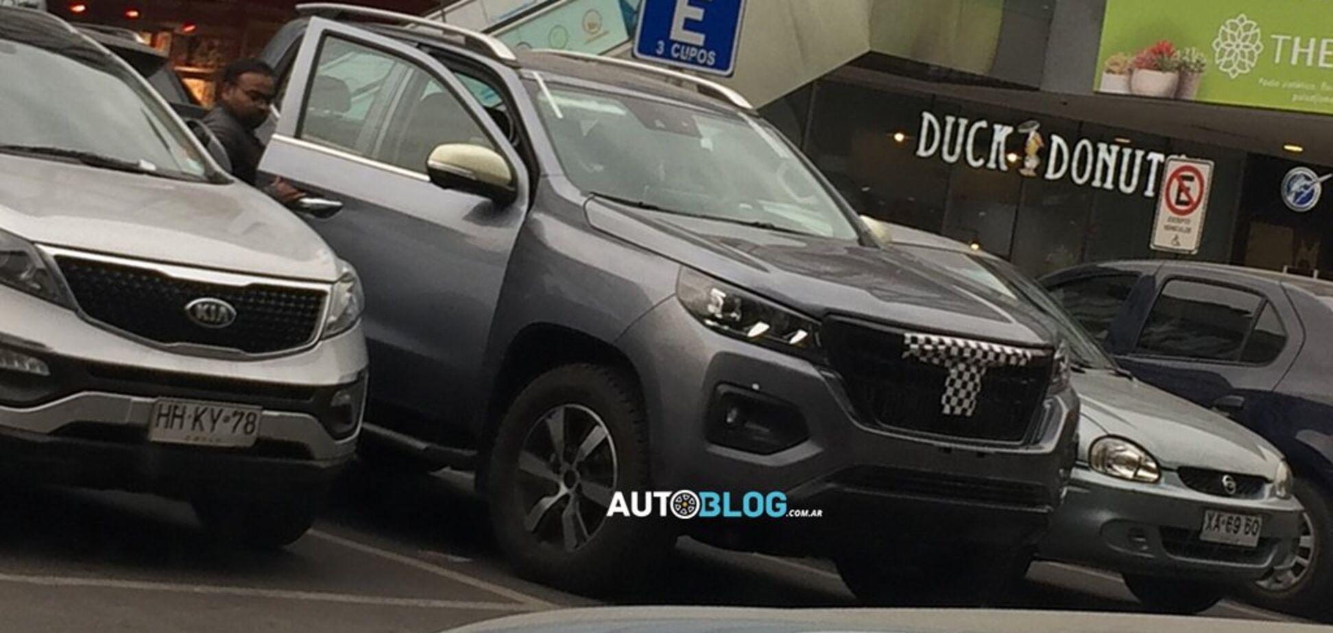 Peugeot готовит конкурента Toyota Hilux