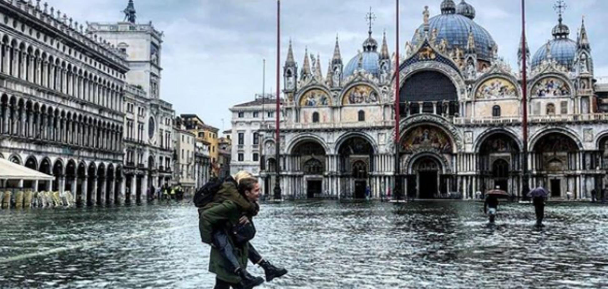 Венеция полностью ушла под воду: фото и видео масштабного потопа