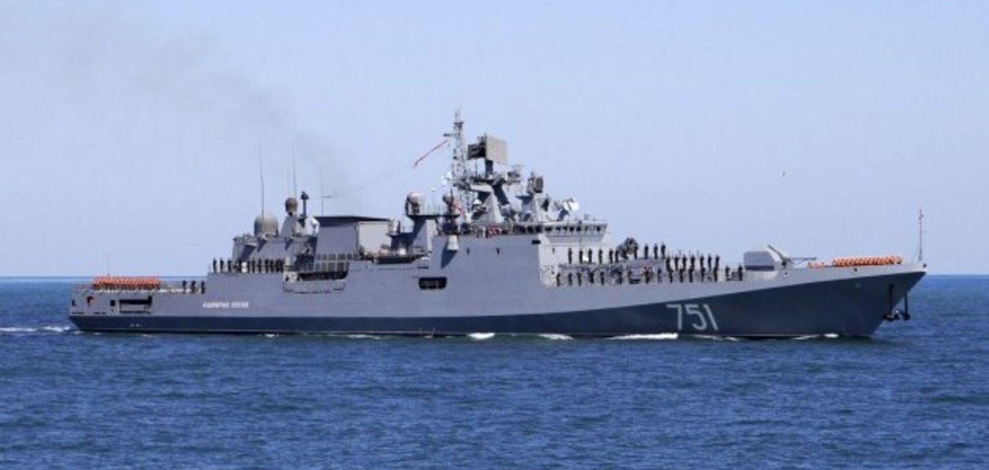 Корабли России в Черном море
