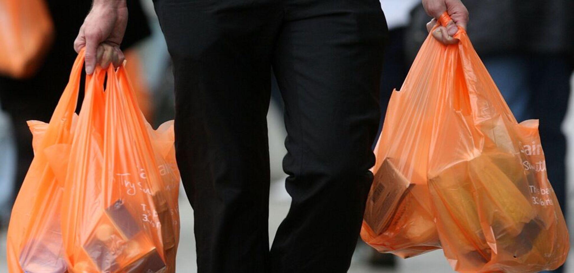 Запрет пластиковых пакетов: в Раде рассказали о штрафах и последствиях