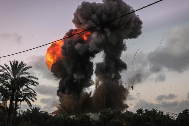 Бомбардування в Ізраїлі